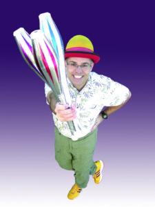 Comic Juggler Dan Kirk